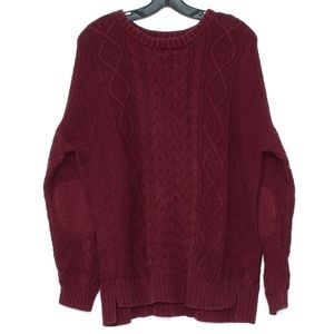 BDG Womens Sweater Red Large G1